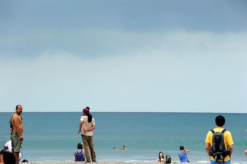 Rantaelämää. Bali.