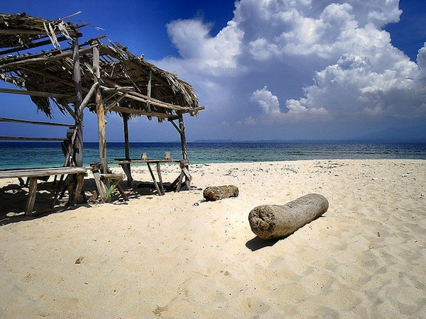 Hiekkarantaa Dominikaanisessa tasavallassa.