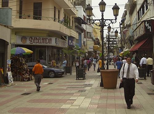 El Conde -katu Santo Domingossa.