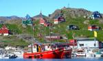 Laivoja Grönlannissa.
