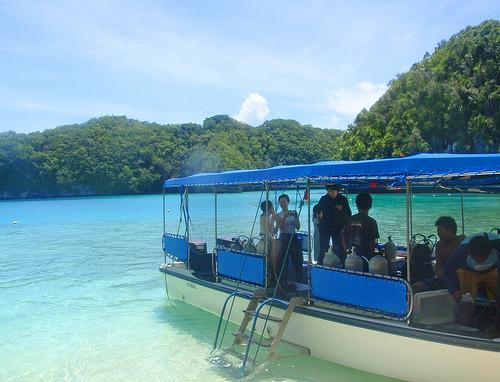 Palaun Rock Islands.