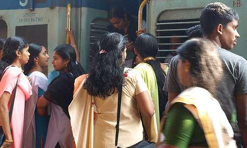 Junamatka Keralassa on kokemus.