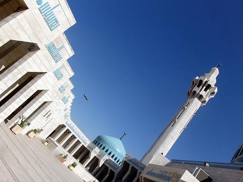 Amman, moskeija. Kuva alazaat, flickr.com.