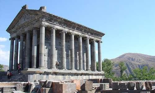 Garnin temppeli, Armenia.