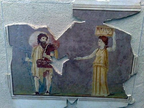 Fresko, Palazzo Massimo, Rooma