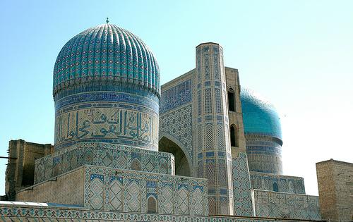 Bibi Khanymin moskeija, Samarkand.