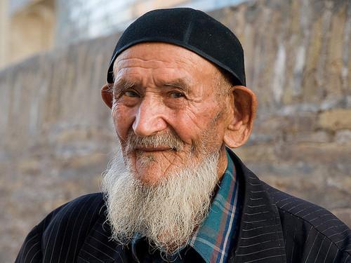 Vanha mies, Uzbekistan