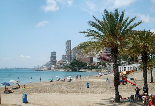 Alicante, hiekkarantaa