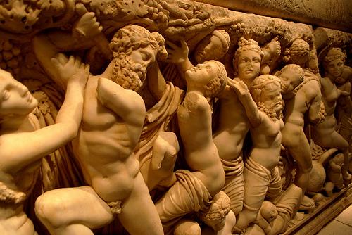 Sarkofagi, lähikuva