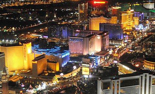 Las Vegas yöllä
