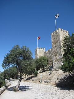 Castelo de Sao Jorge, Lissabon
