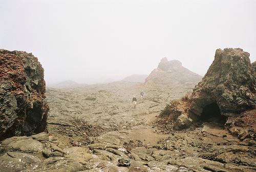 Vaellus vulkaanisella alueella on unohtumaton elämys.