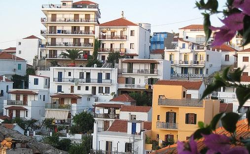 Skopelos, kaupunki