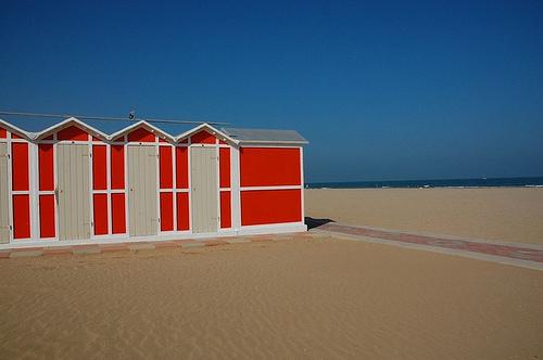 Riccione, rantaa