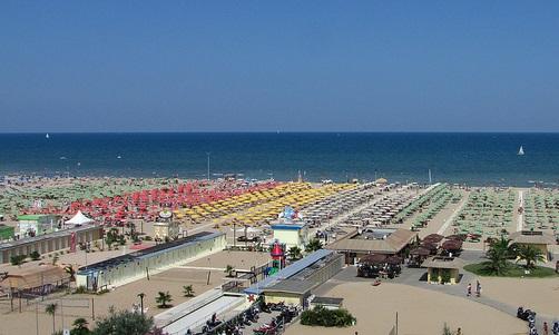 Rimini, hiekkarantaa