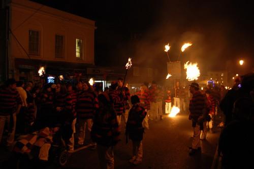 Lewes Bonfire - Guy Fawkesin yö