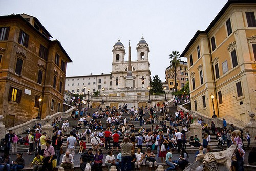 Espanjalaiset portaat, Rooma