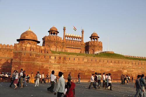Punainen linnoitus eli Lal Qila, Delhi