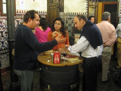 Sevilla, tapasbaari