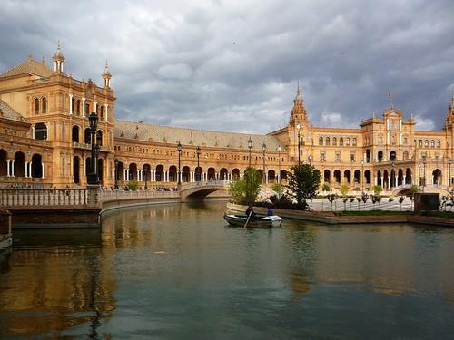 Sevilla, Plaza España