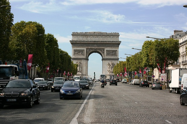 Riemukaari, Pariisi