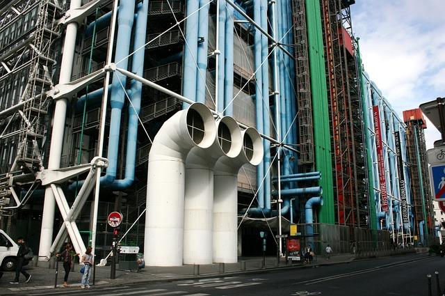Georges Pompidou -keskus, Pariisi