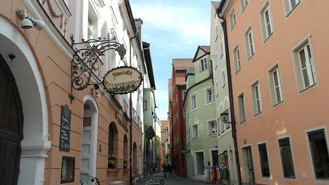 Regensburg, vanha kaupunki